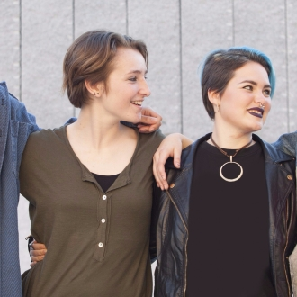 four queer and trans teenagers