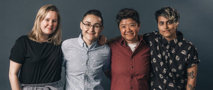 Four queer patients of color, including masculine of center nonbinary transgender patients and trans men