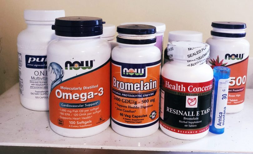 Supplements for surgical recovery, as included in Prism Integrative Acupuncture's post-surgical recovery toolkit
